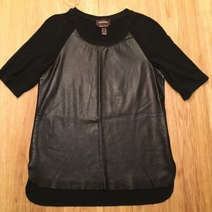 Danier Italian Leather T-Shirt